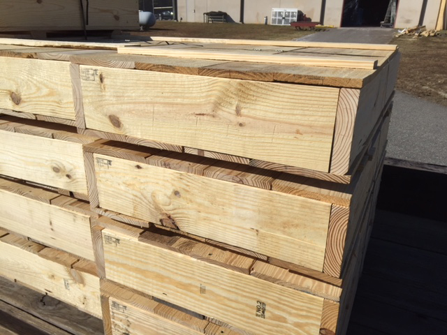 custom pallets crates automotive industry
