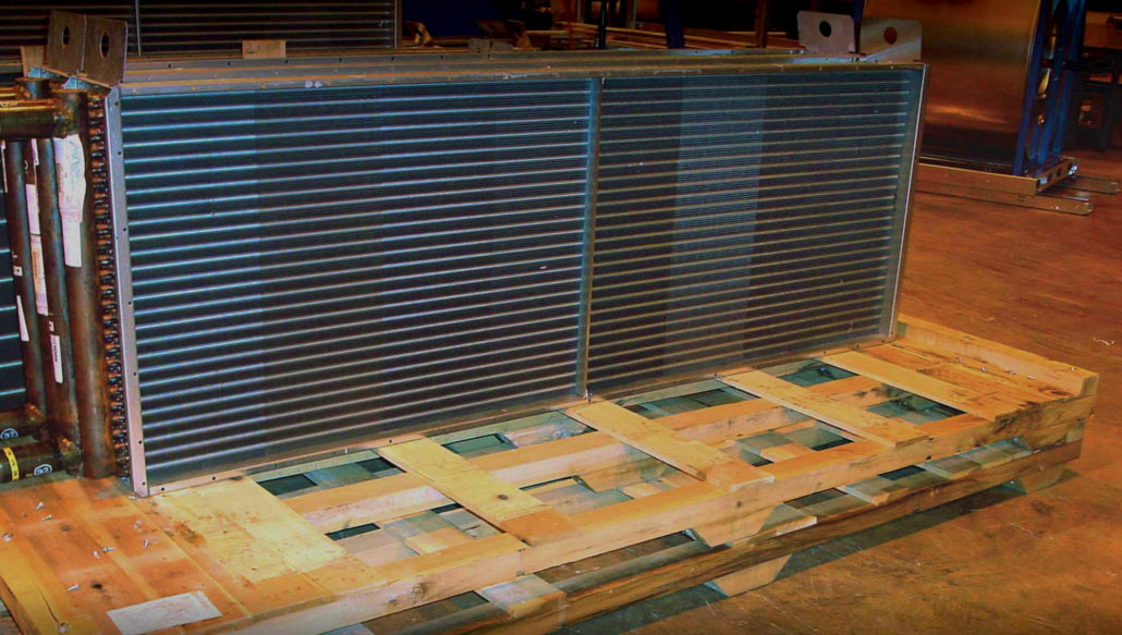 custom pallets crates hvac appliance