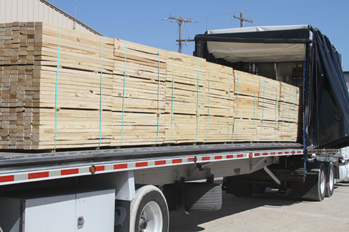 Export Compliant Lumber and industrial wood and packaging