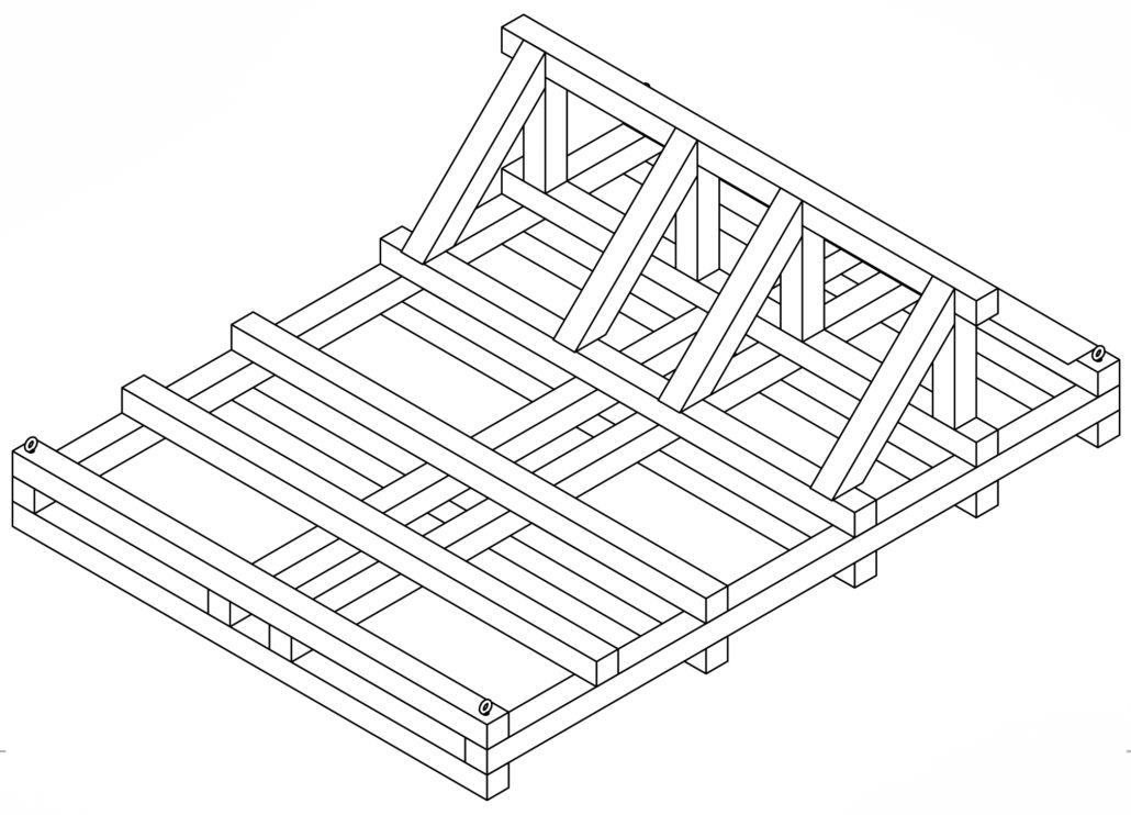 custom pallets crates logistics transportation