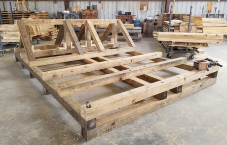 custom pallets crates logistics transportation