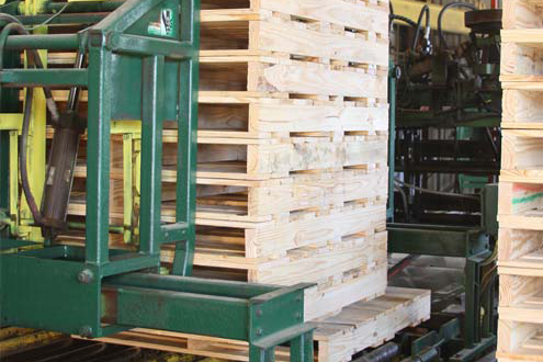machine built pallets