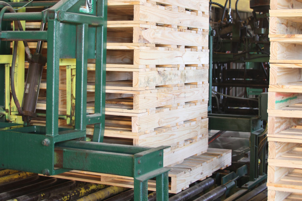 machine built pallet