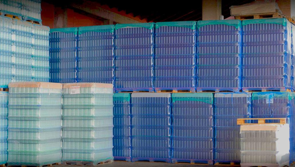 custom pallets crates pharmaceuticals food beverage consumer goods