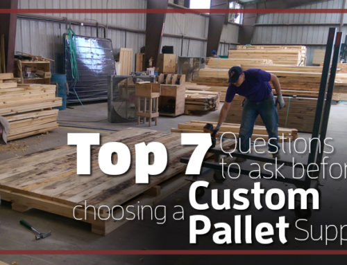 Top 7 Questions to Ask Before Choosing a Custom Pallet Supplier
