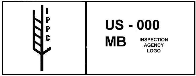 ISPM15 stamp