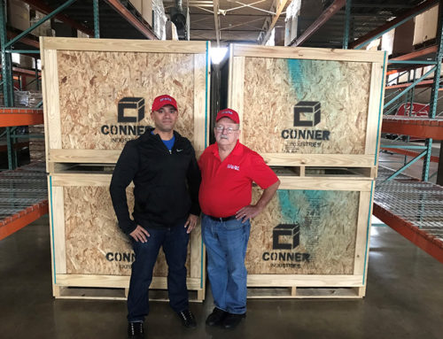 [PRESS RELEASE] Conner Builds Crates to Aide U.S. Marine Corps Reserve Toys for Tots Program