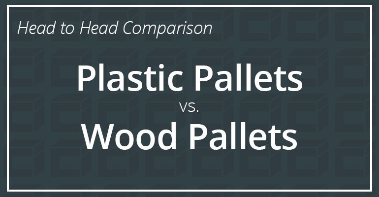 Plastic vs Wood Pallets