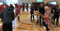 Conner Helps Build-A-Bed Project