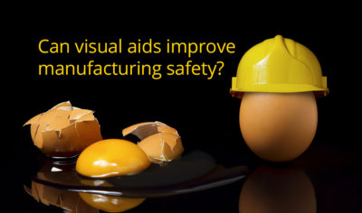 Can visual aids improve manufacturing safety?