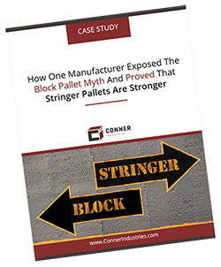 Case Study: How One Manufacturer Exposed The Block Pallet Myth And Proved That Stringer Pallets Are Stronger