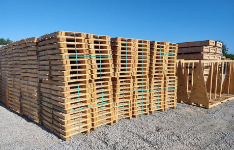 pallets crates wood packaging