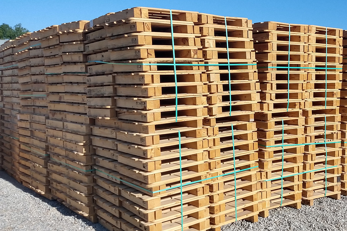 Buy Pallets – Should You Choose Recycled, Remanufactured, or New? | Conner  Industries