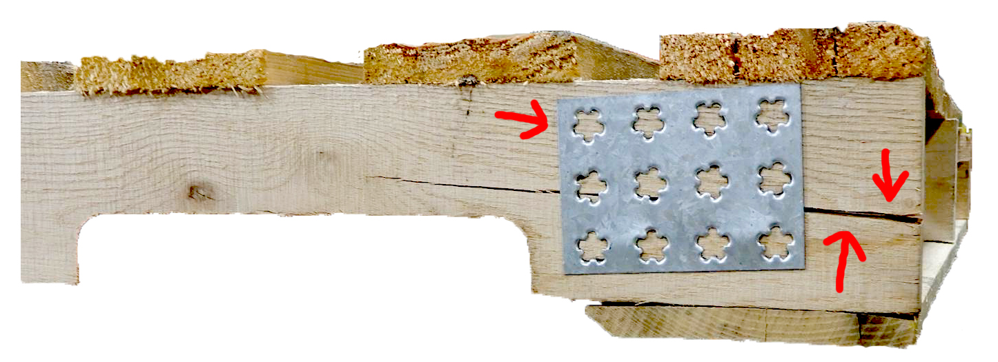wooden pallets plate