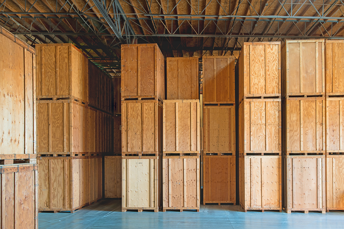 wooden crates industrial shipping crates