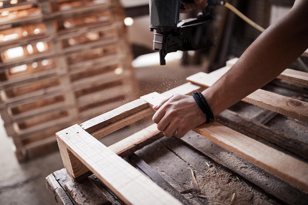 pallet cut parts