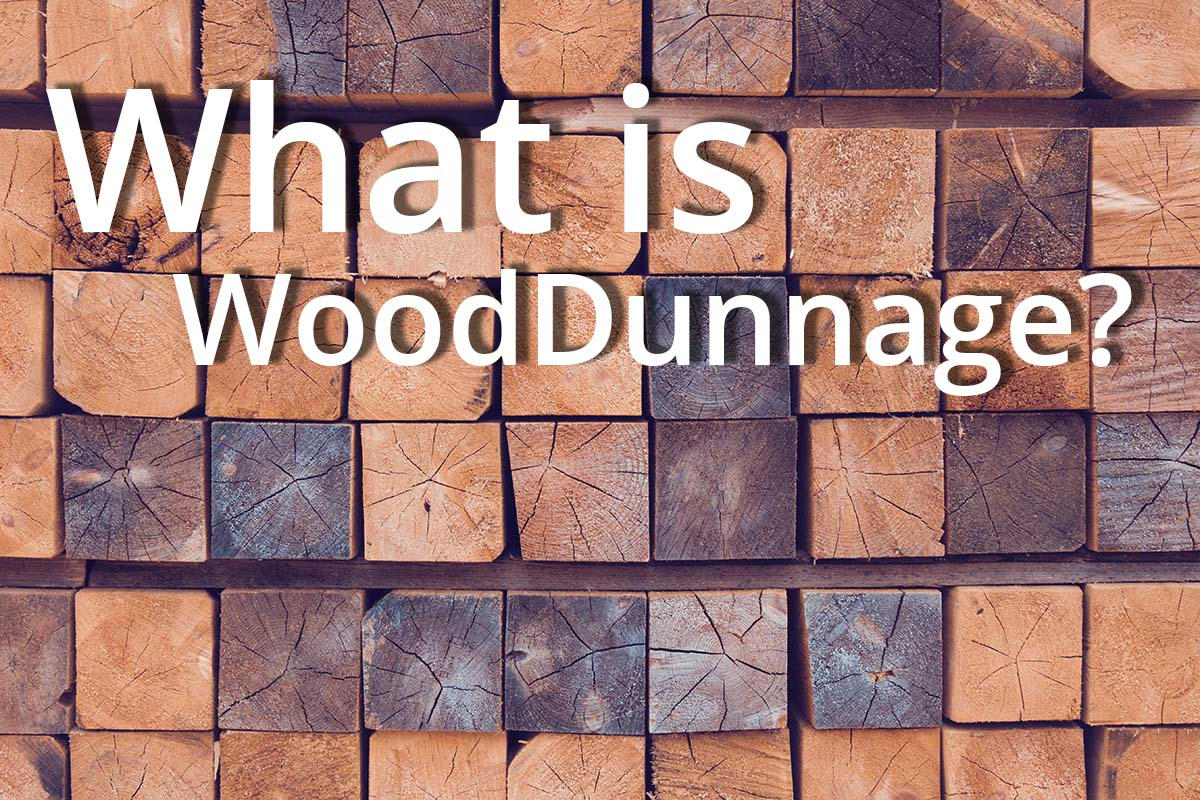 What is wood dunnage